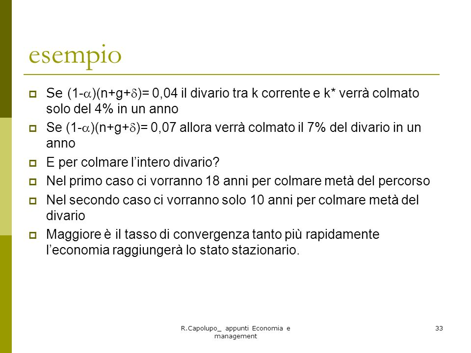 R.Capolupo_ appunti Economia e management