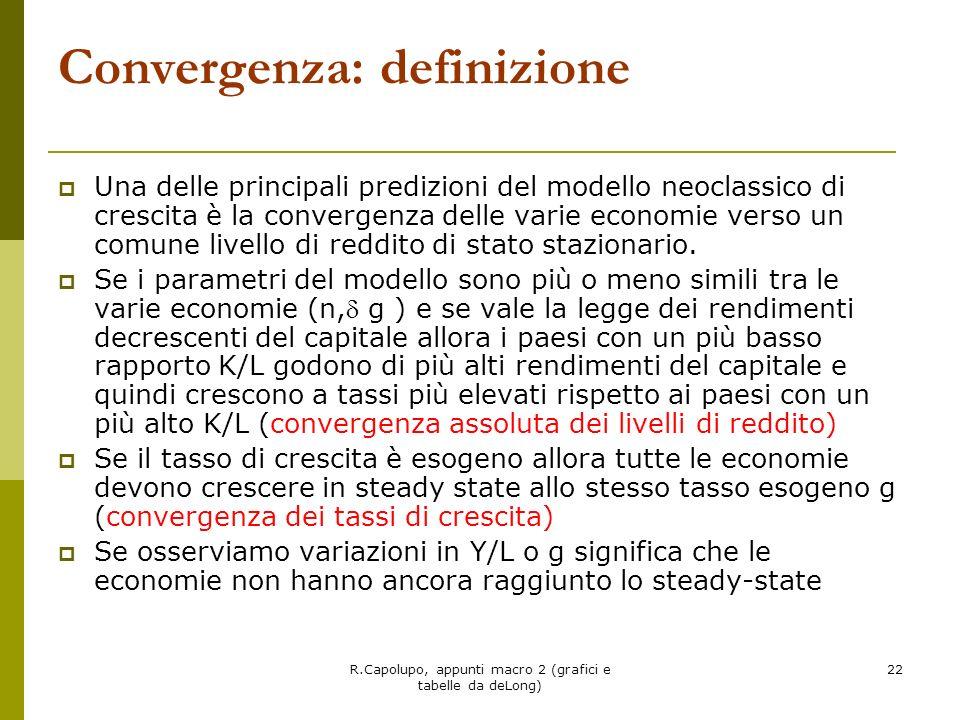 Convergenza: definizione