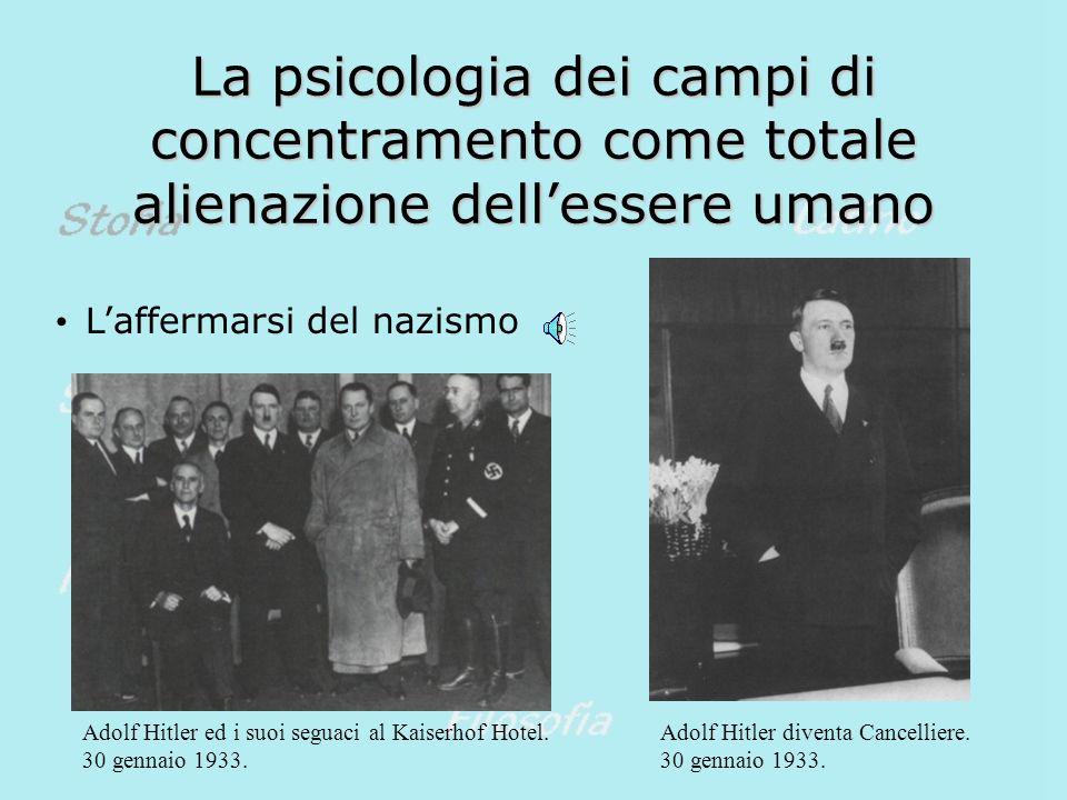 La psicologia dei campi di concentramento come totale alienazione dell'essere umano