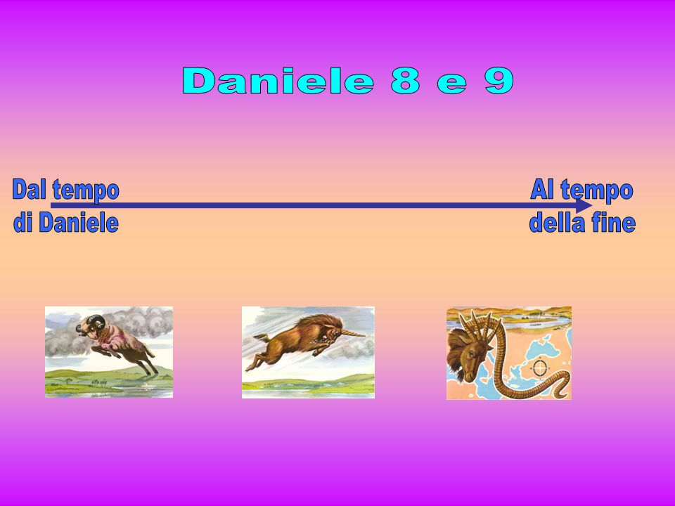 Daniele 8 e 9 Dal tempo di Daniele Al tempo della fine
