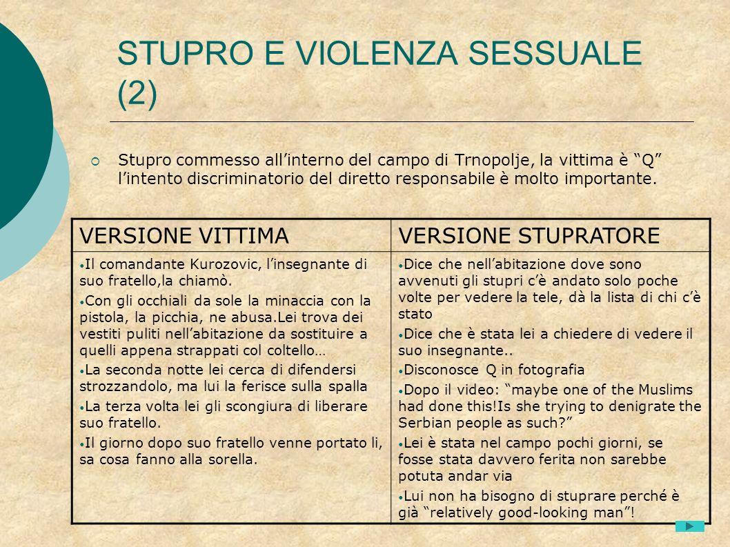 STUPRO E VIOLENZA SESSUALE (2)
