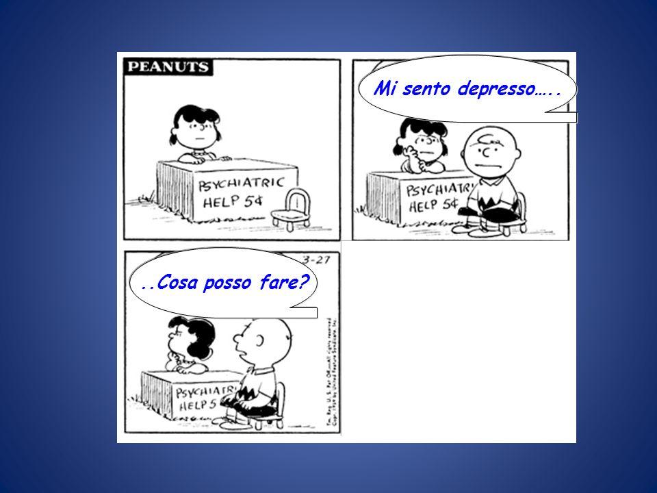 Mi sento depresso….. REAGISCI! 5 CENT, PREGO ..Cosa posso fare