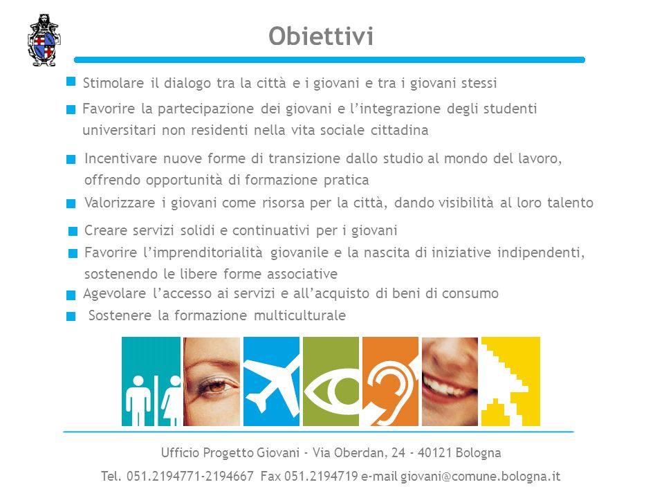 Ufficio Progetto Giovani - Via Oberdan, 24 - 40121 Bologna