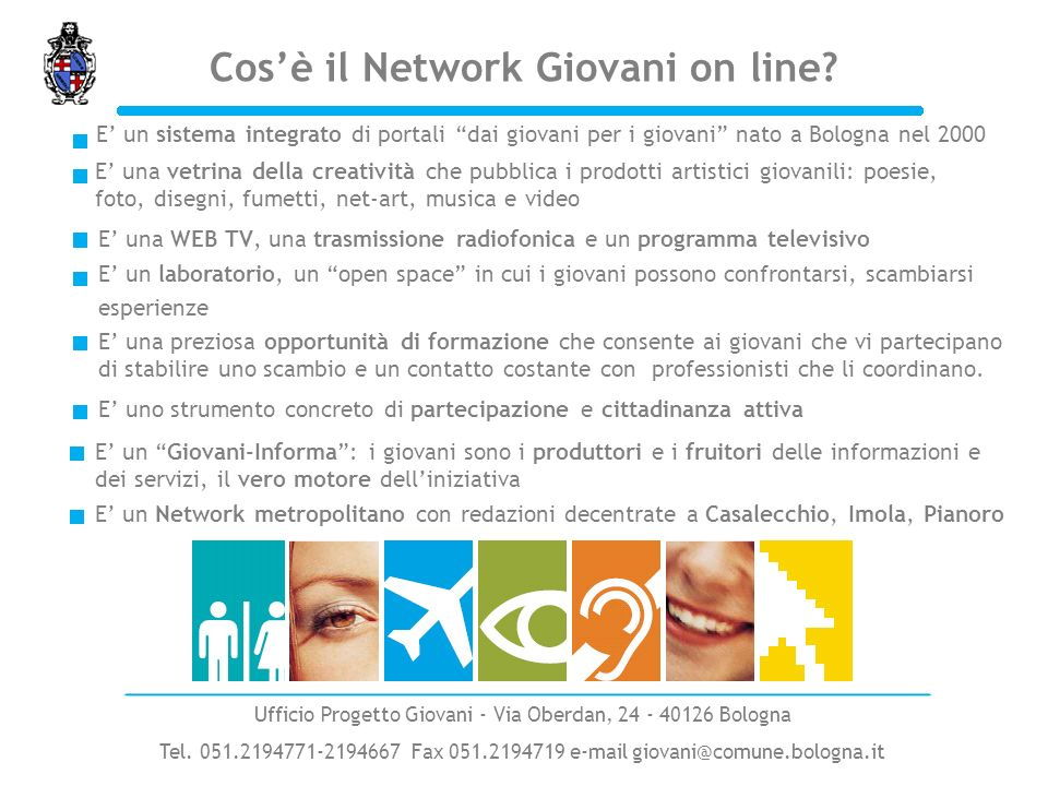 Cos'è il Network Giovani on line