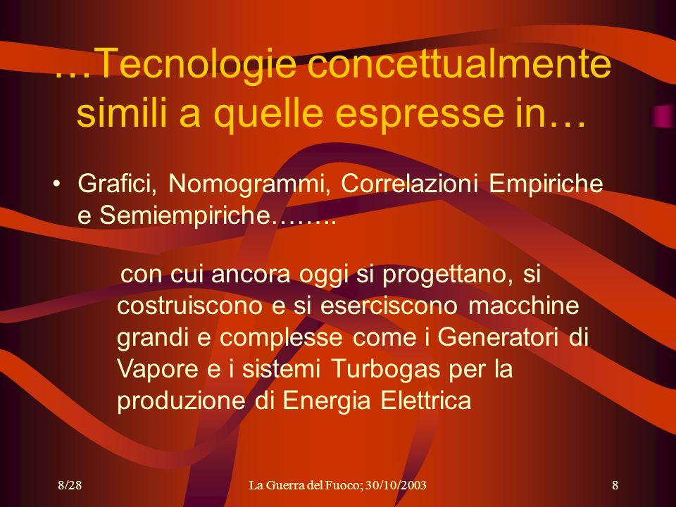 …Tecnologie concettualmente simili a quelle espresse in…