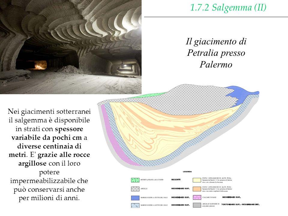 Il giacimento di Petralia presso Palermo