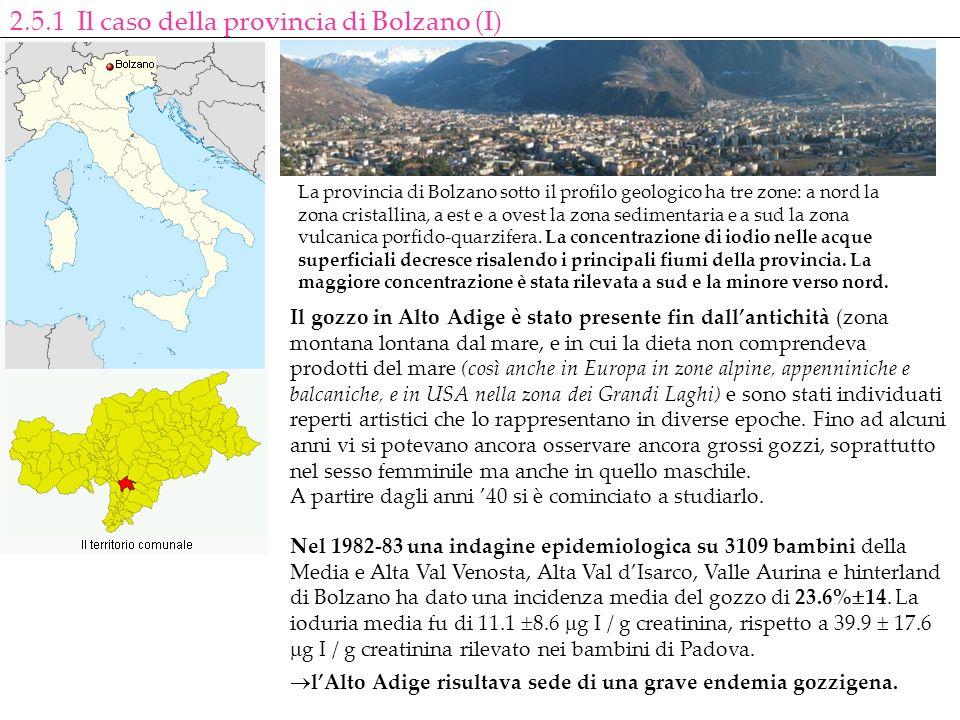 2.5.1 Il caso della provincia di Bolzano (I)