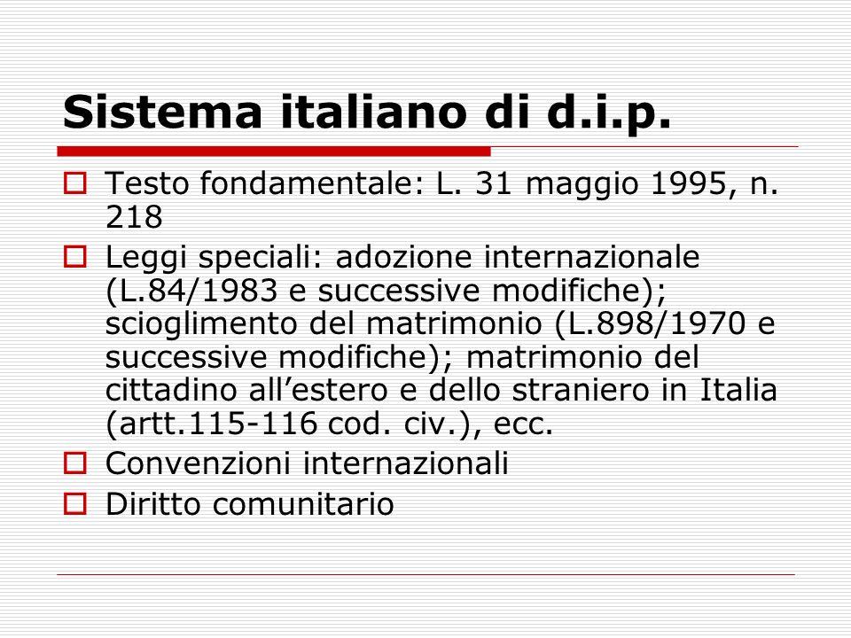 Sistema italiano di d.i.p.