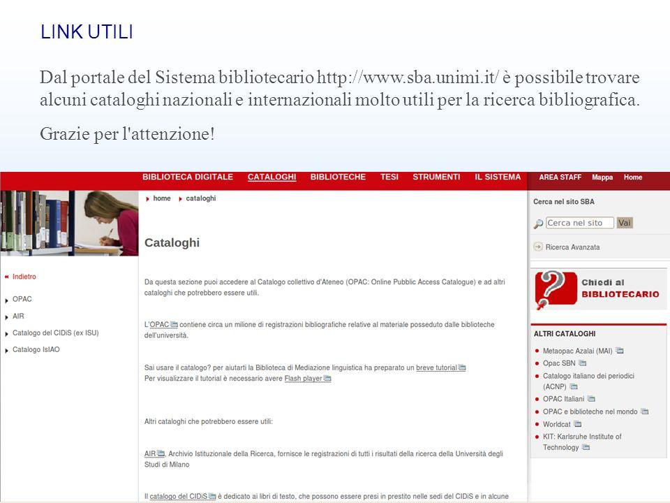 Banche dati bibliografiche