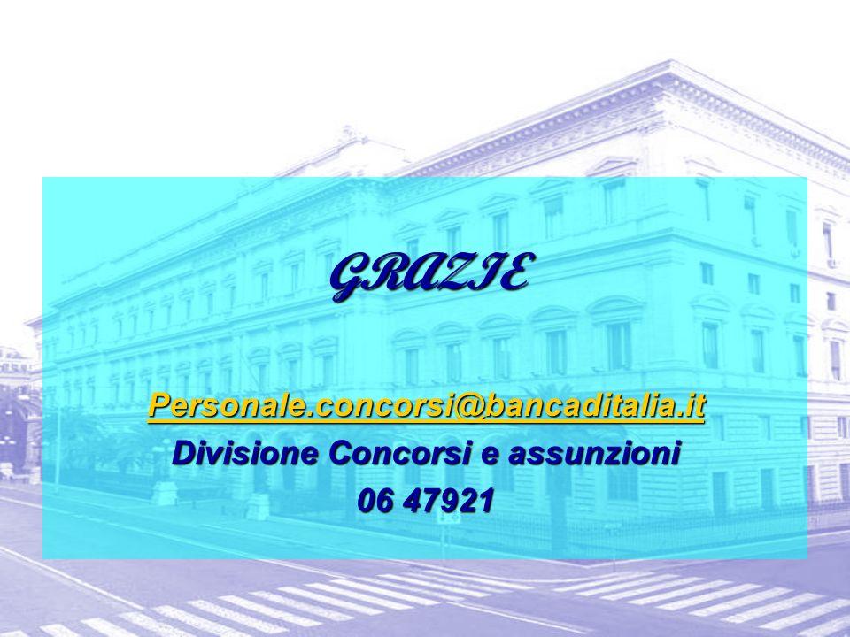 Divisione Concorsi e assunzioni