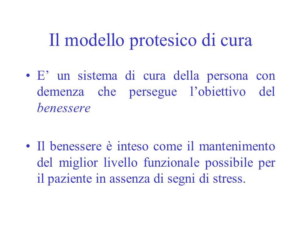 Il modello protesico di cura