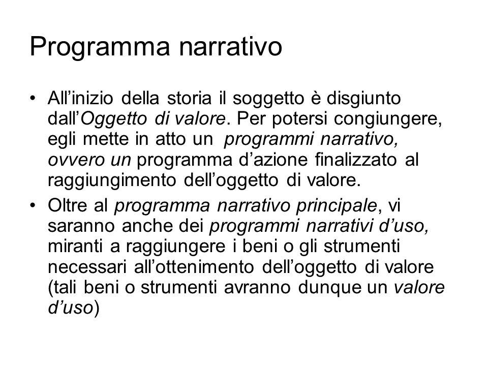 Programma narrativo