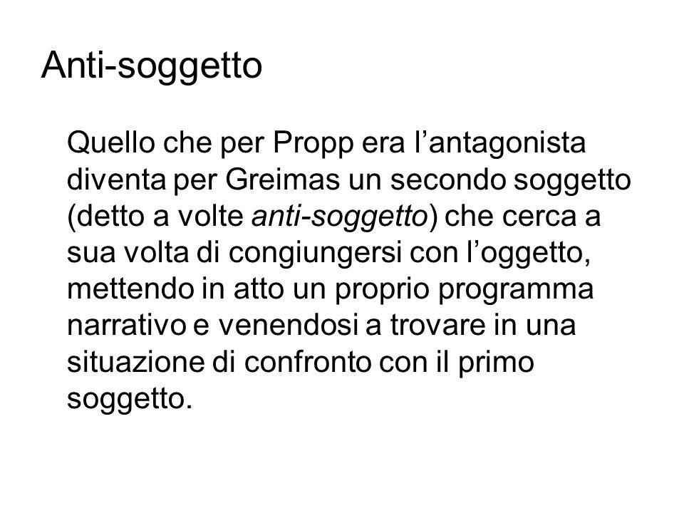 Anti-soggetto