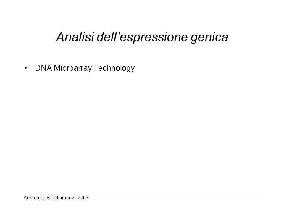 Analisi dell'espressione genica