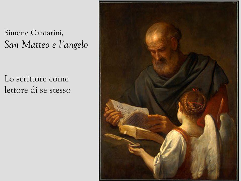 San Matteo e l'angelo Lo scrittore come lettore di se stesso
