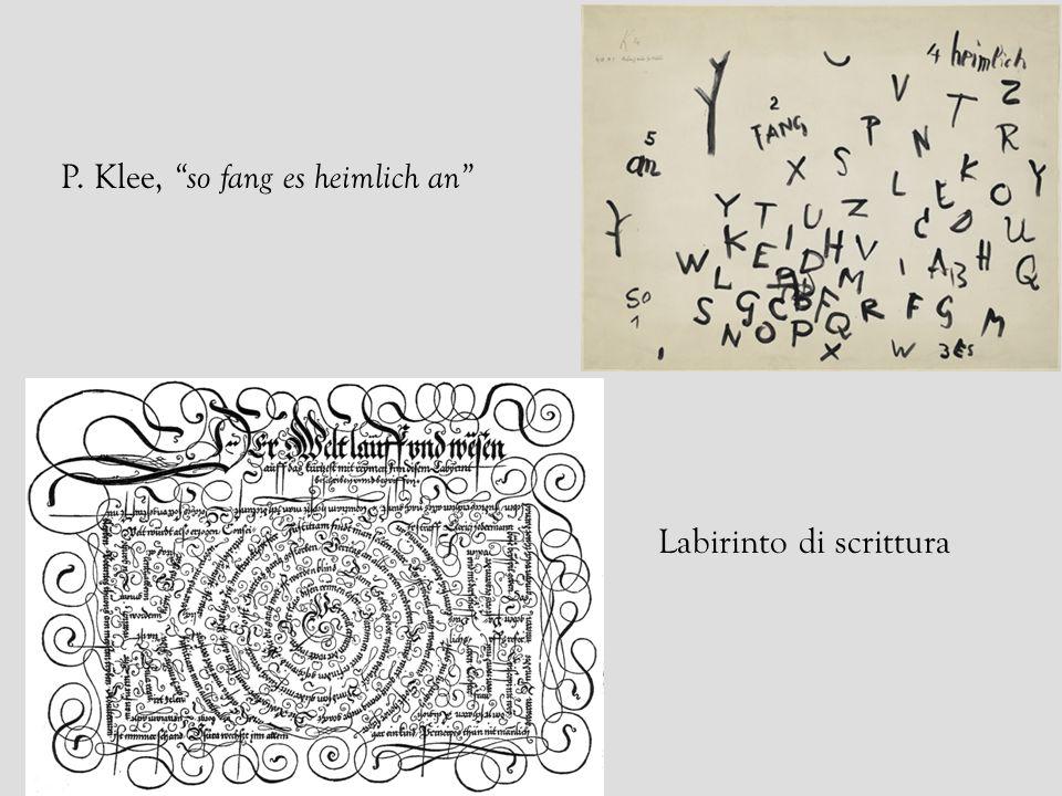 P. Klee, so fang es heimlich an