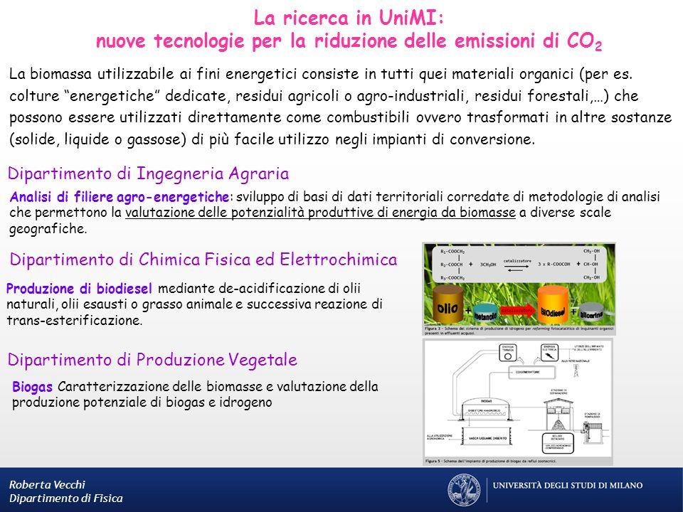 nuove tecnologie per la riduzione delle emissioni di CO2