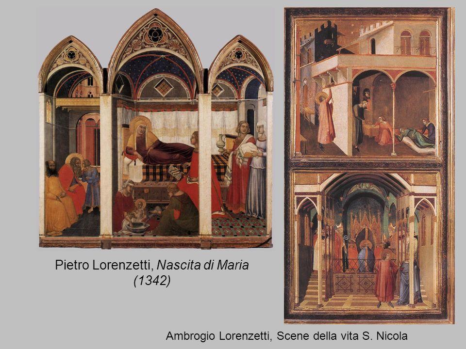 Pietro Lorenzetti, Nascita di Maria (1342)
