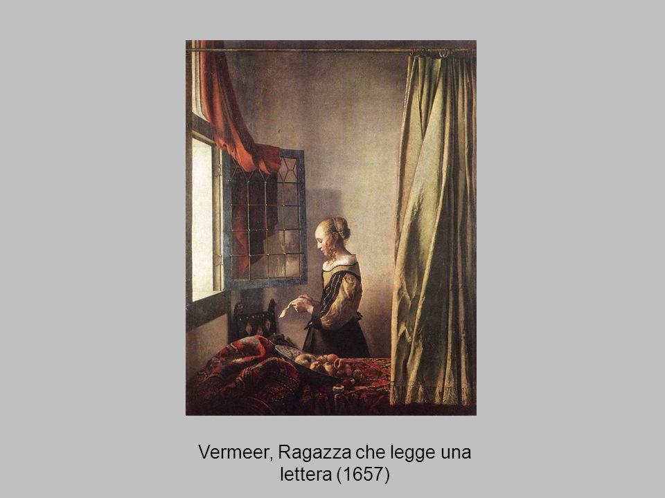 Vermeer, Ragazza che legge una lettera (1657)