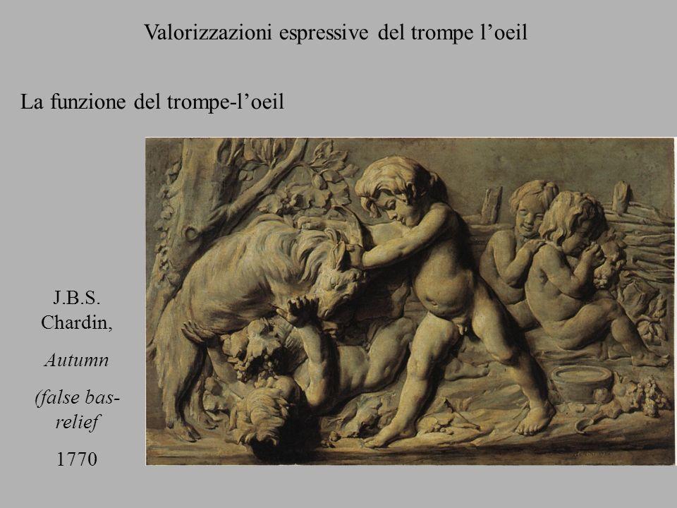 Valorizzazioni espressive del trompe l'oeil