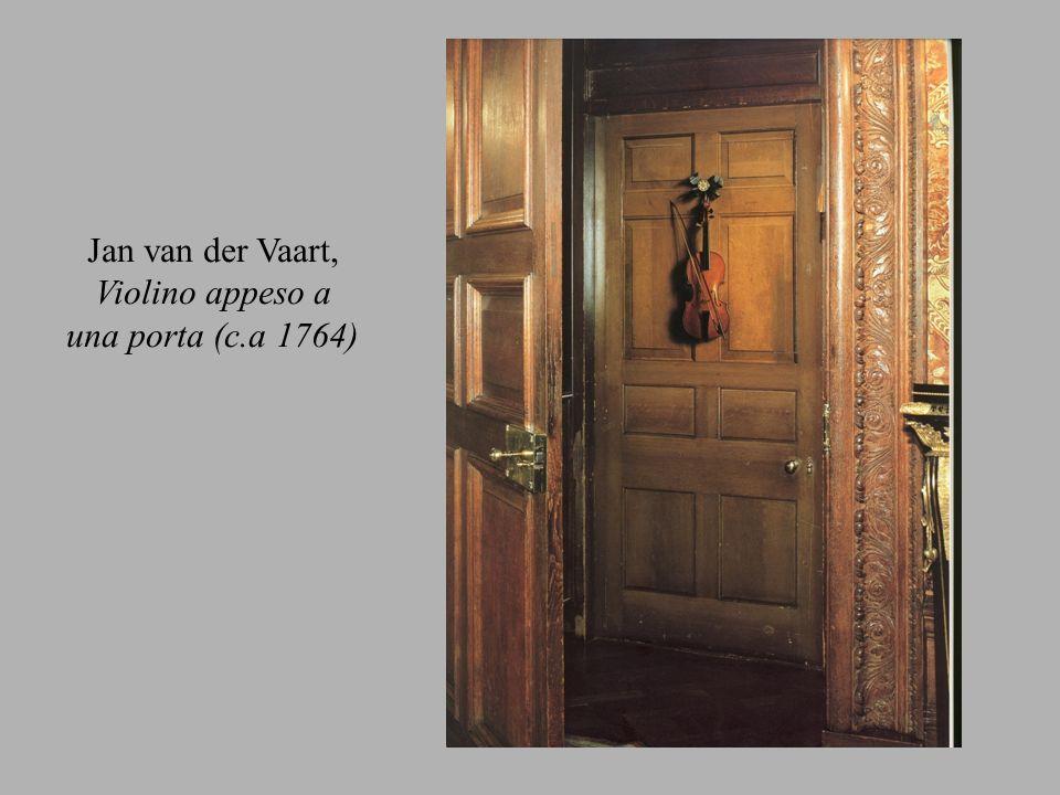 Jan van der Vaart, Violino appeso a una porta (c.a 1764)