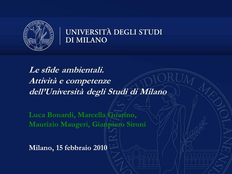 dell'Università degli Studi di Milano