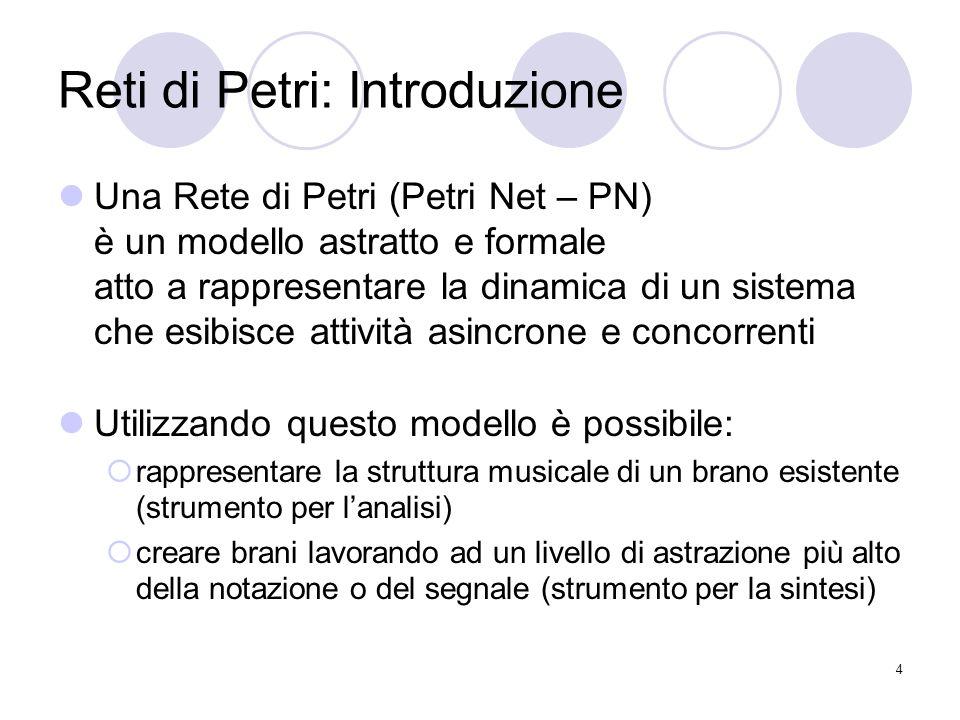 Reti di Petri: Introduzione