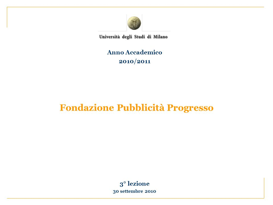 Fondazione Pubblicità Progresso