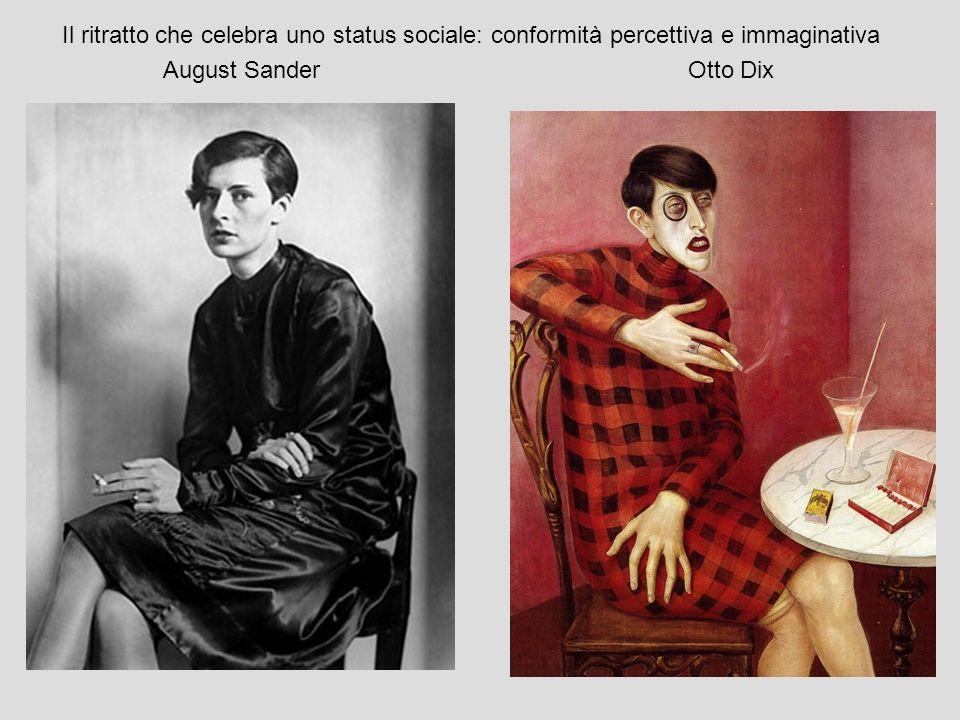 Il ritratto che celebra uno status sociale: conformità percettiva e immaginativa