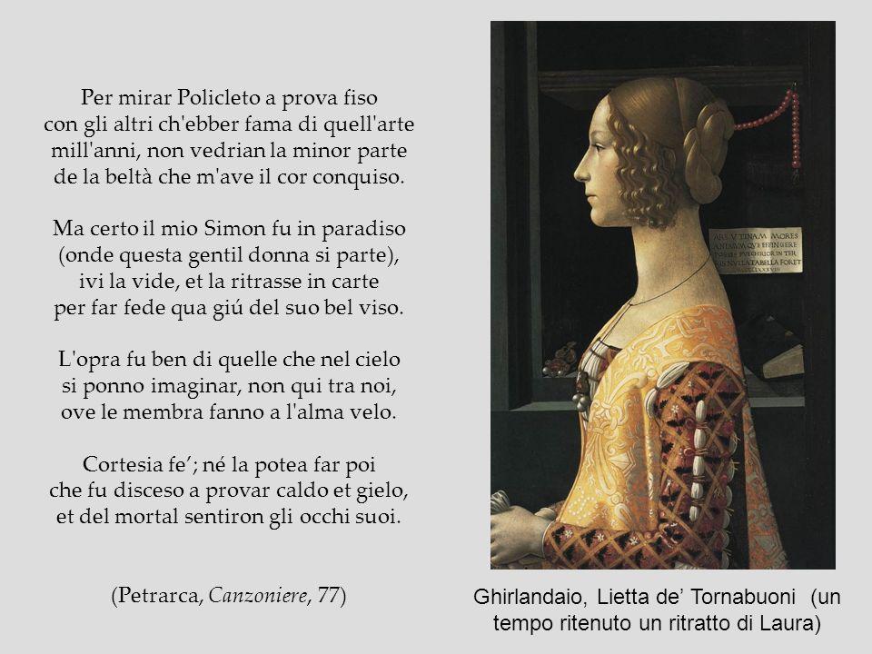 (Petrarca, Canzoniere, 77)
