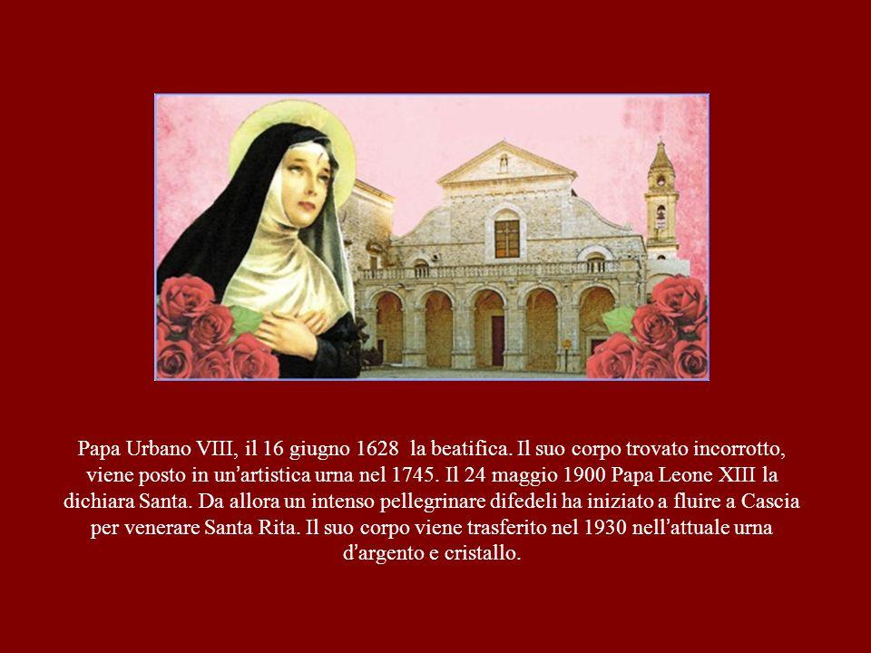 Papa Urbano VIII, il 16 giugno 1628 la beatifica