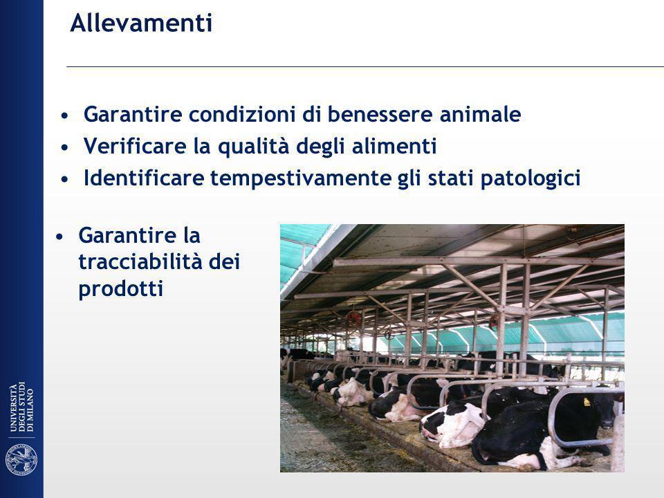 Allevamenti Garantire condizioni di benessere animale