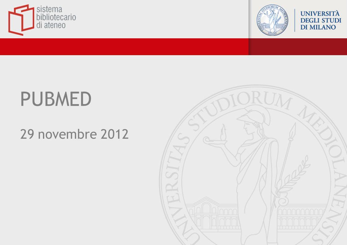 PUBMED 29 novembre 2012