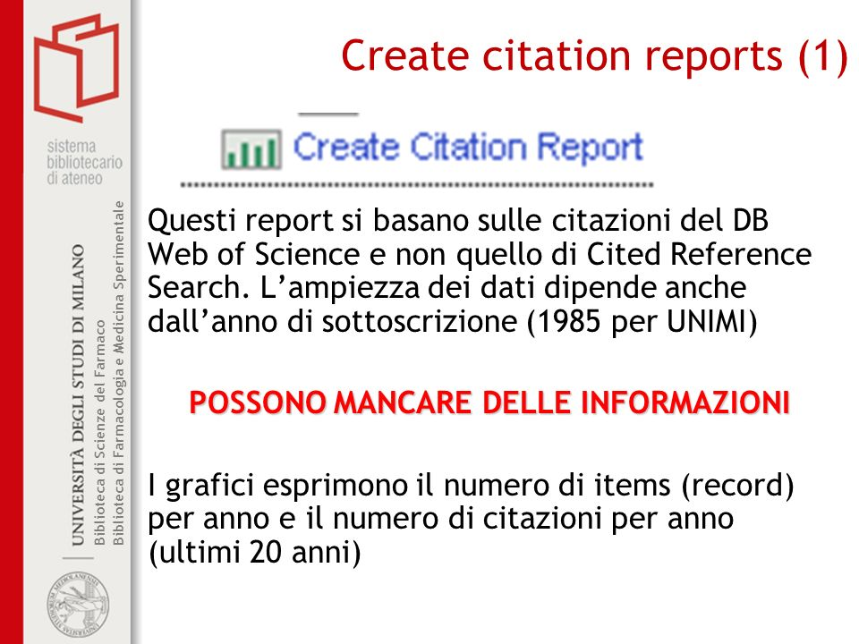 Create citation reports (1)