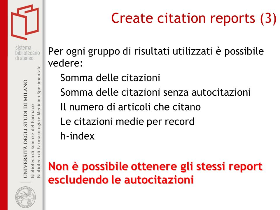 Create citation reports (3)