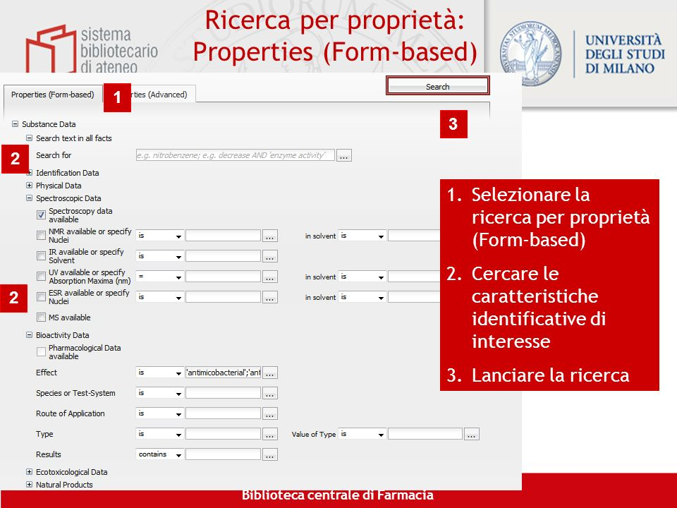 Ricerca per proprietà: Properties (Form-based)