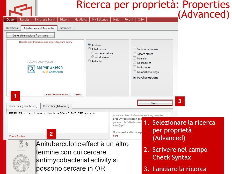 Ricerca per proprietà: Properties (Advanced)