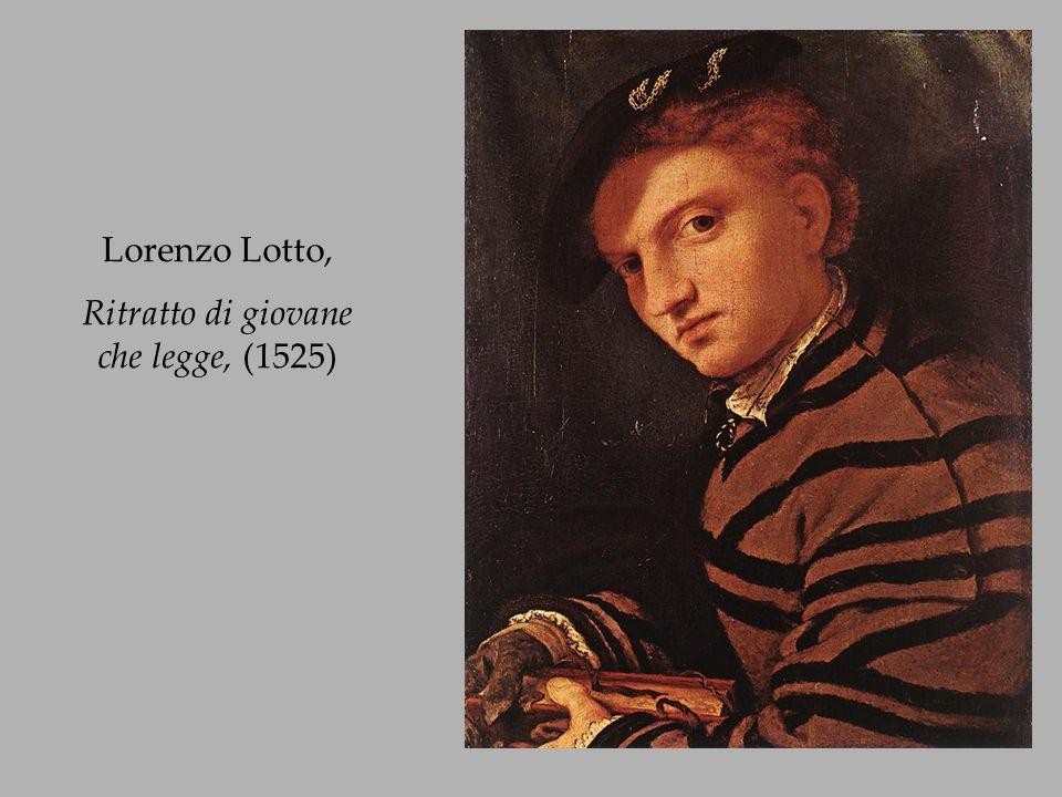 Ritratto di giovane che legge, (1525)