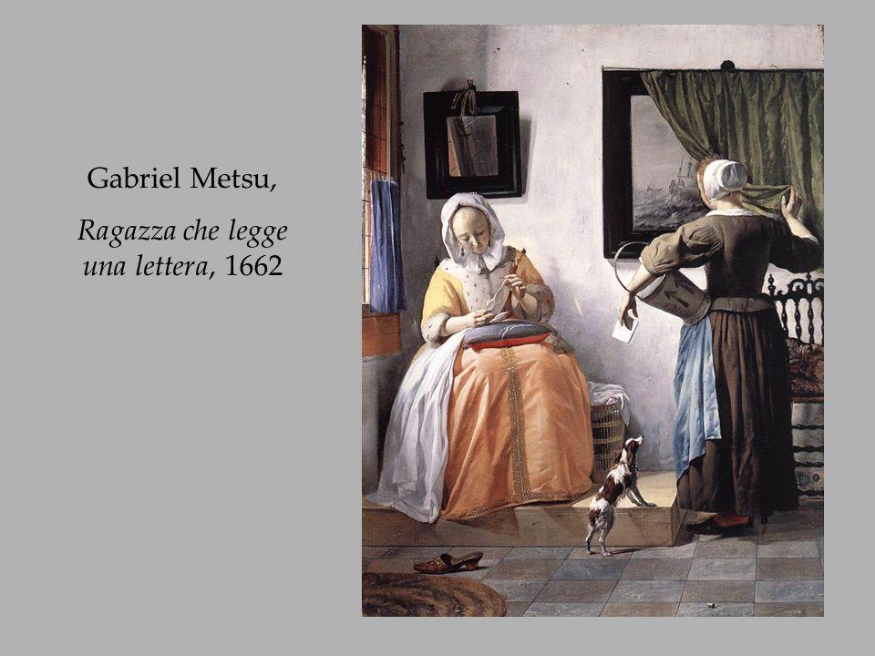 Ragazza che legge una lettera, 1662