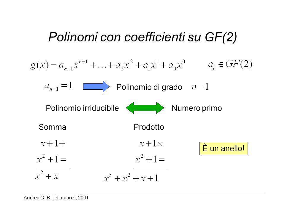 Polinomi con coefficienti su GF(2)