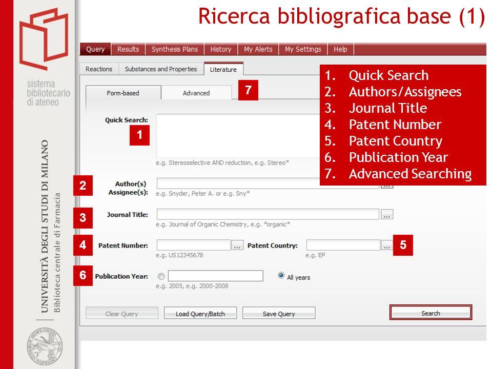 Ricerca bibliografica base (1)