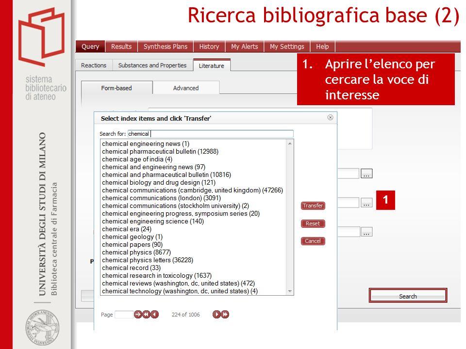 Ricerca bibliografica base (2)