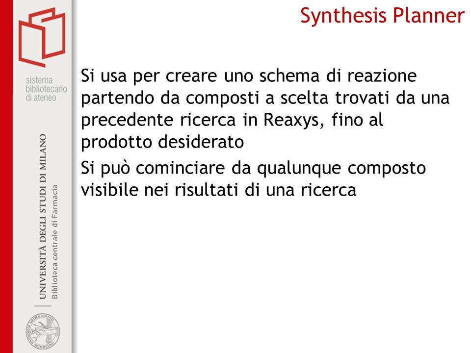 Synthesis Planner