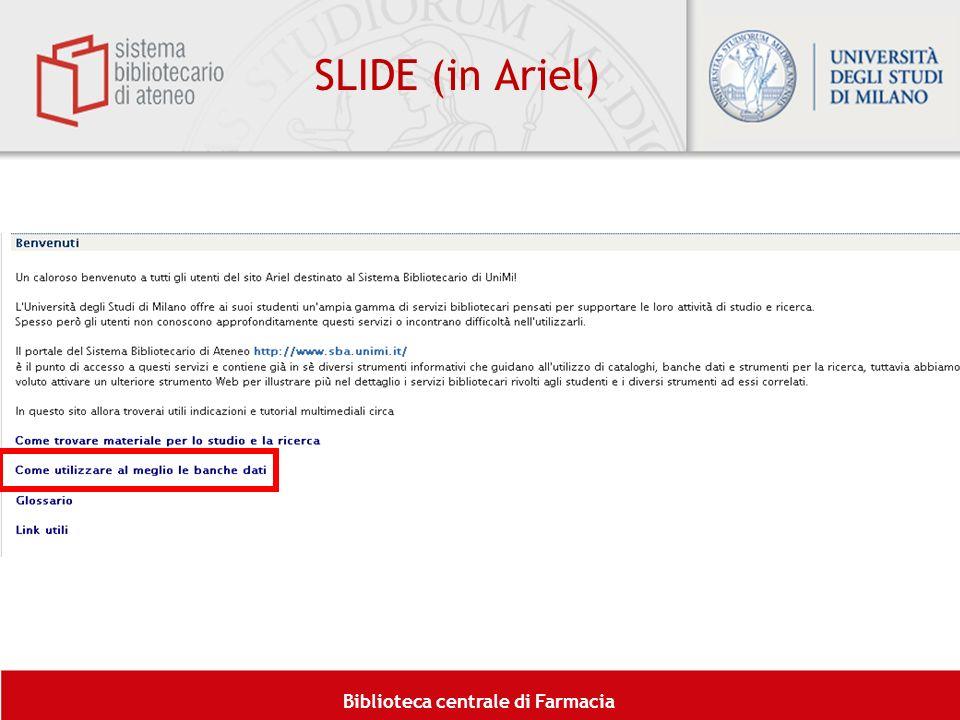 SLIDE (in Ariel)