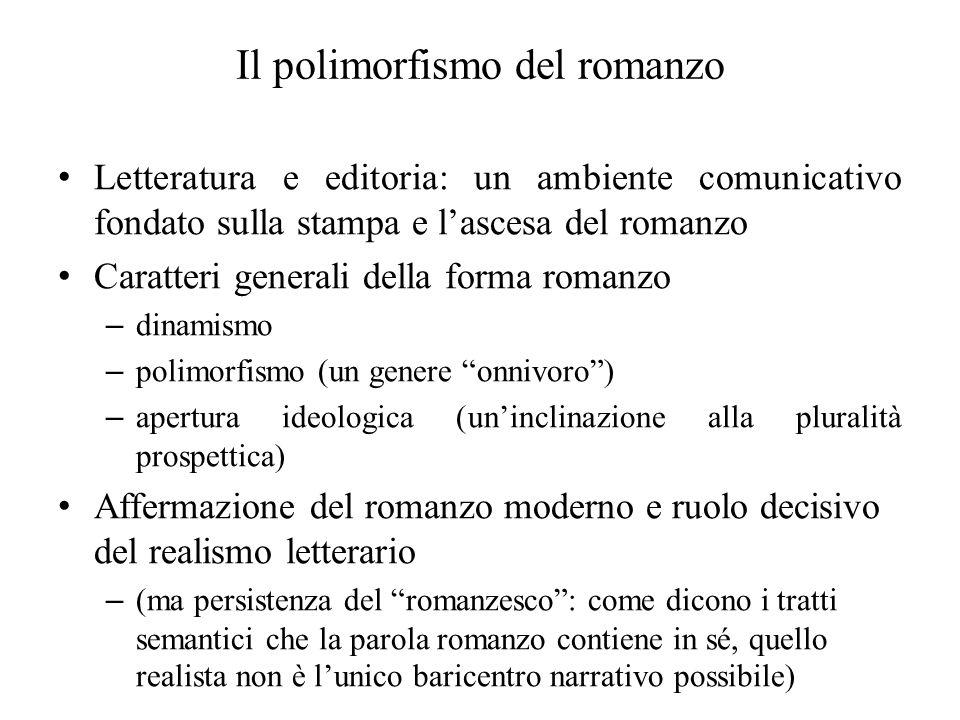Il polimorfismo del romanzo