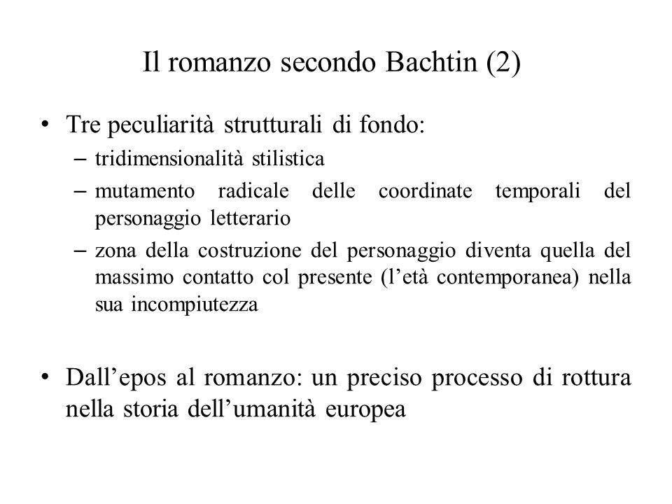 Il romanzo secondo Bachtin (2)
