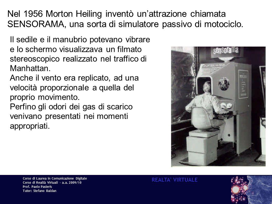 Nel 1956 Morton Heiling inventò un'attrazione chiamata