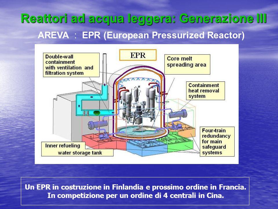 Reattori ad acqua leggera: Generazione III