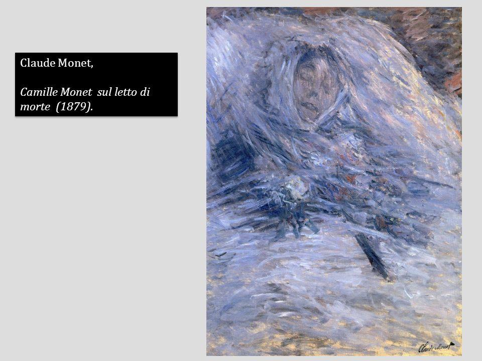 Claude Monet, Camille Monet sul letto di morte (1879).