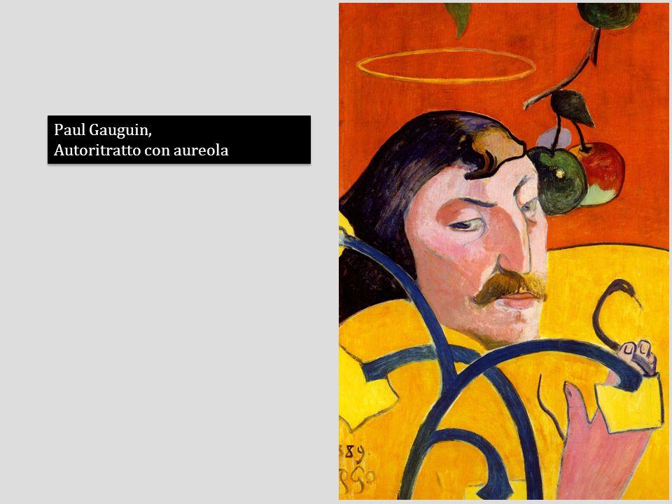 Paul Gauguin, Autoritratto con aureola
